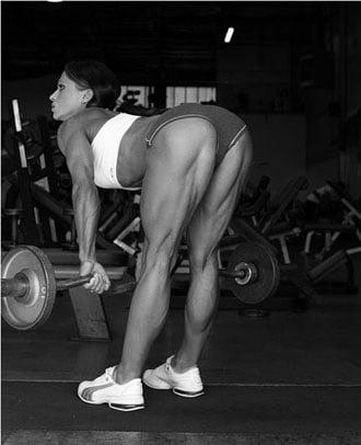 exercício stiff leg deadlift