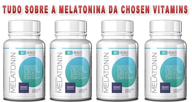 melatonina da Chosen Vitamins