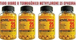 methyldrene 25 Ephedra termogenico