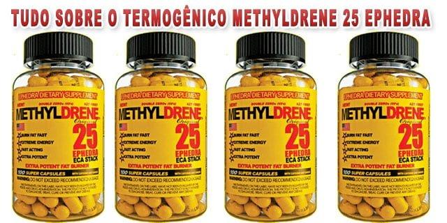 methyldrene 25 Ephedra termogênico