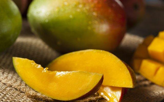 manga fruta composição e vitaminas