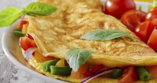 receitas de omelete light