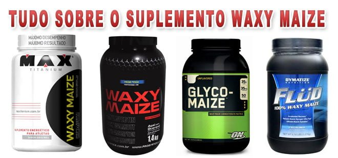Waxy Maize suplemento