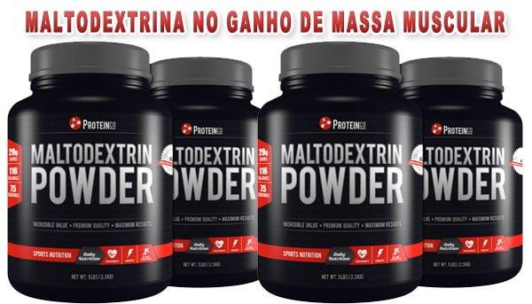 maltodextrina no ganho de massa muscular