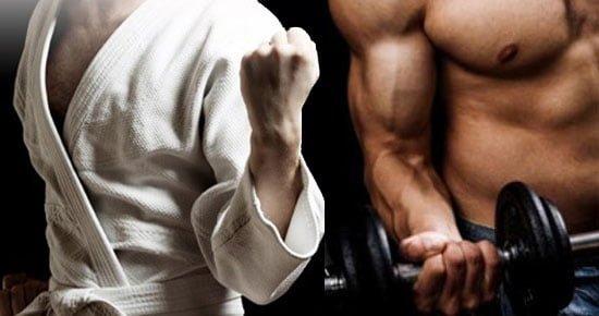 musculação para lutadores de Jiu Jitsu