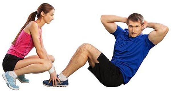 treino de abdominais mais efetivo