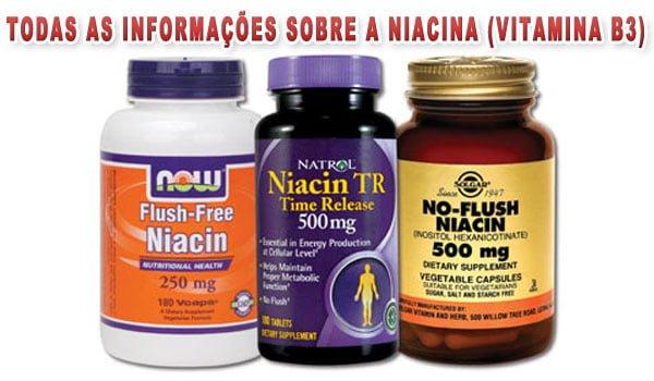 suplemento niacina vitamina B3