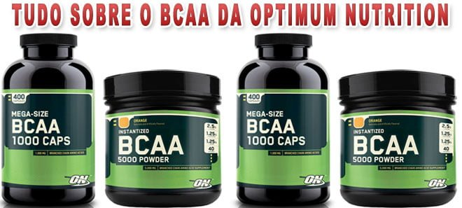 bcaa da optimum nutrition