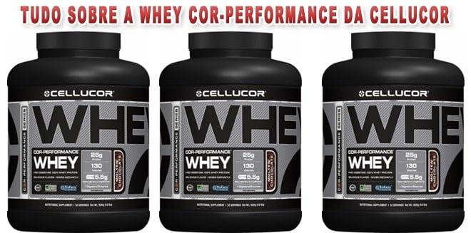 Whey Protein Cor-Performance da Cellucor, um produto de elevada qualidade!