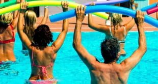 hidroginastica promove aumento de forca