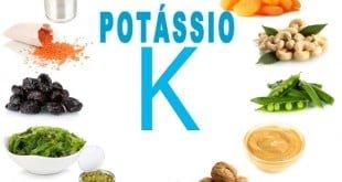 potassio funcoes e alimentos ricos