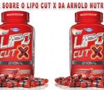 Lipo Cut X, o termogênico da Arnold Nutrition