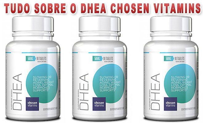 DHEA Chosen Vitamins 50mg
