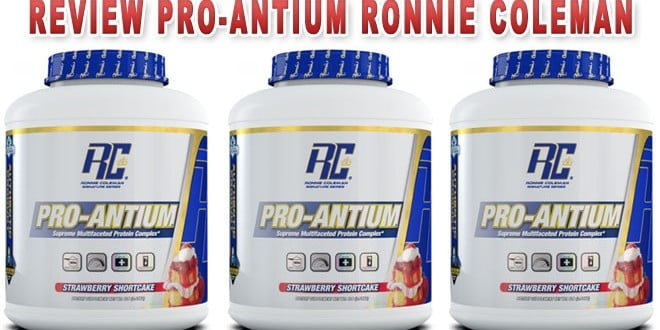 Pro-Antium Ronnie Coleman – Review completo