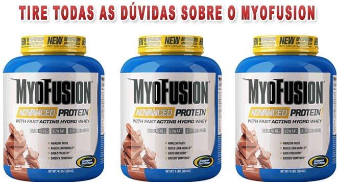 MyoFusion protein Gaspari nutrition é bom
