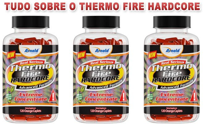 Thermo Fire Hardcore Arnold Nutrition