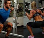 A importância do agachamento livre para ganhos musculares de outros membros