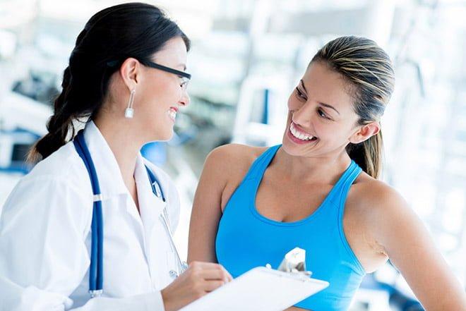 Exame para treino de musculação