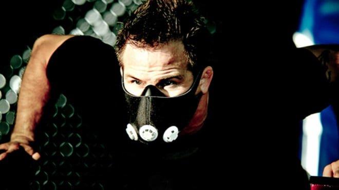 Máscara de treinamento em altitude ou máscara elevation training