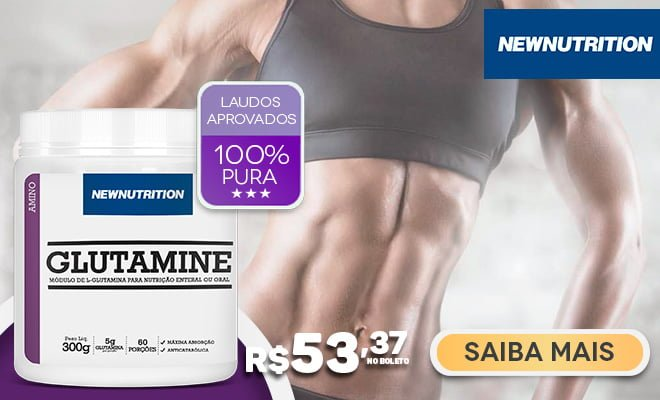 Glutamina NewNutrition