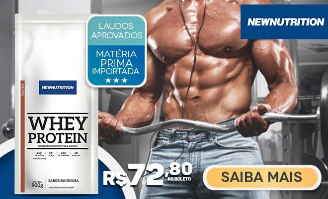 Whey Protein Concentrada NewNutrition