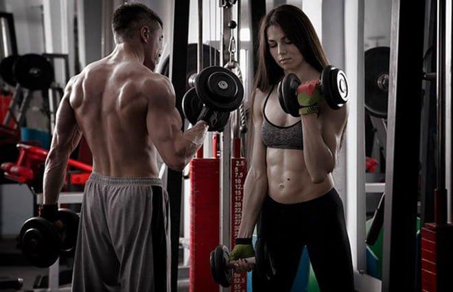segurança durante exercicio fisico musculação