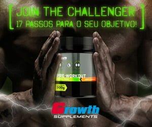 Challenger da Growth Supplements banner