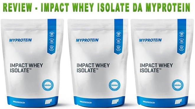 Impact Whey Isolate da MyProtein