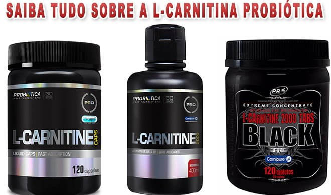 L-Carnitina Probiótica