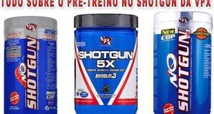 No Shotgun 5x suplemento pre treino