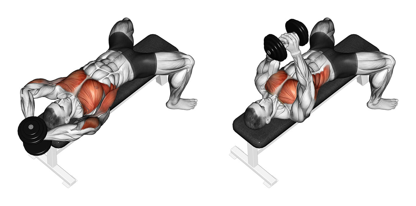 chest n triceps workout - 1411×700