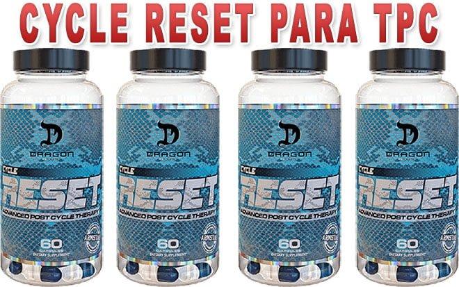 Cycle Reset da Dragon Pharma para tpc