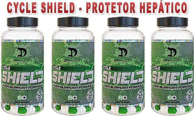 Cycle Shield da Dragon Pharma - Protetor Hepático