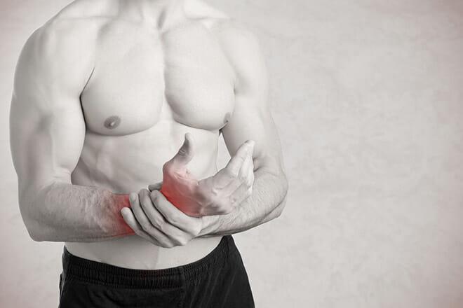 Manter a massa muscular afastado por lesão - sem treinar musculação