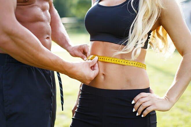 reduzir percentual de gordura