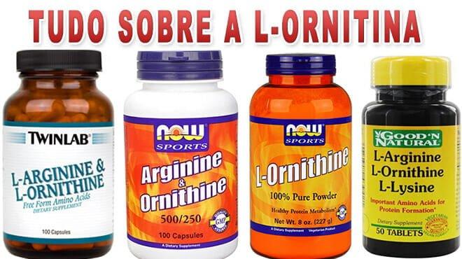 Ornitina - Para que serve, benefícios, efeitos colaterais