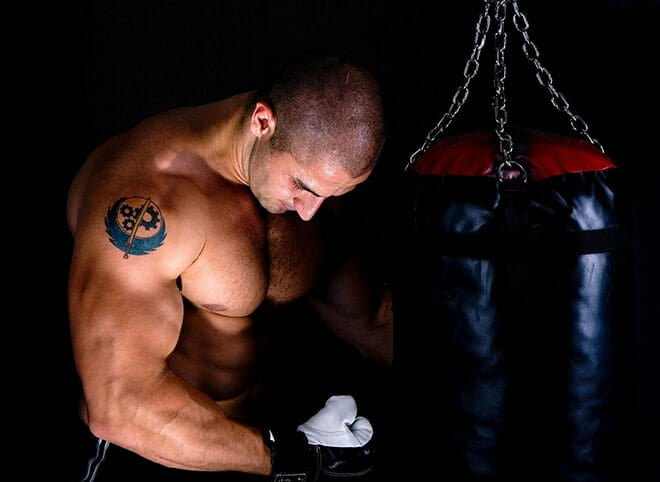 Treino de agilidade para lutadores