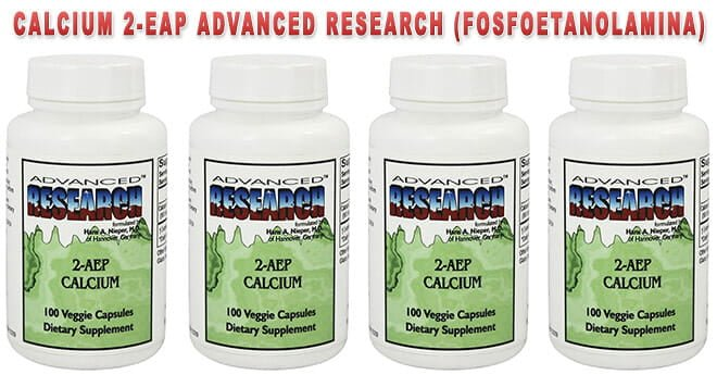 Calcium 2-EAP Advanced Research (Fosfoetanolamina)