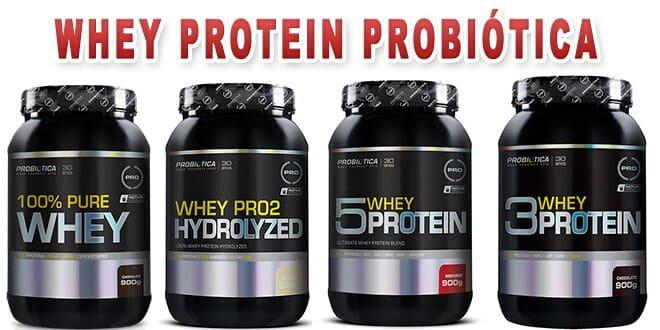 Whey Protein Probiótica