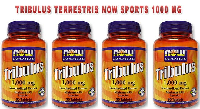 Tribulus Terrestris Now Sports 1000mg