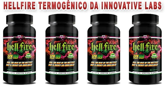 Hellfire termogênico da Innovative Labs
