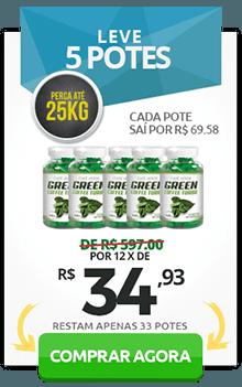 Comprar 5 potes de Green Coffee Turbo