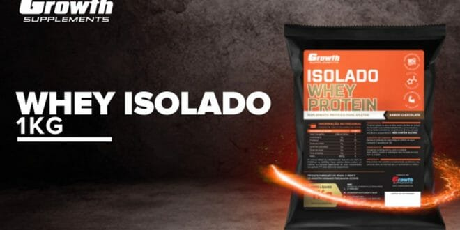 Top Whey Protein Isolado da Growth Supplements