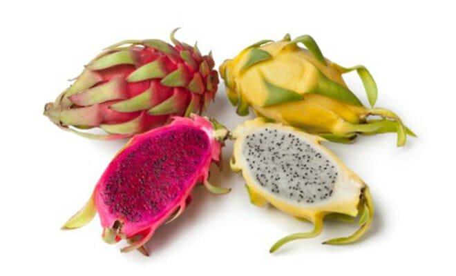 Fruta pitaya tipos