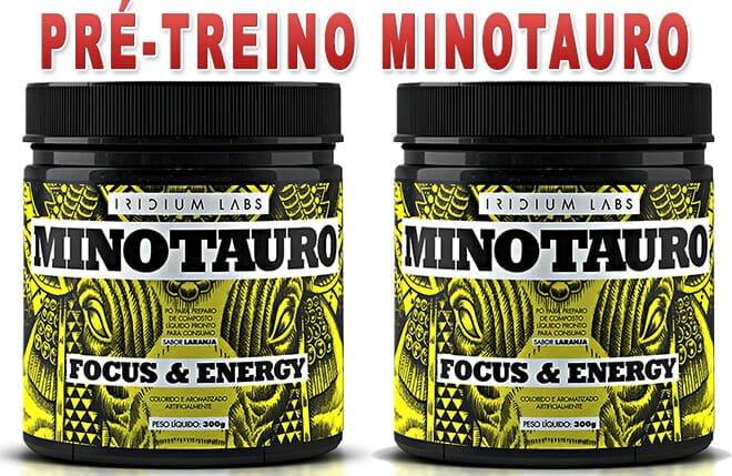 Minotauro Suplemento Pre Treino
