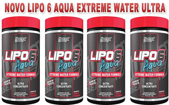 Lipo 6 Aqua Extreme Water Ultra concentrado