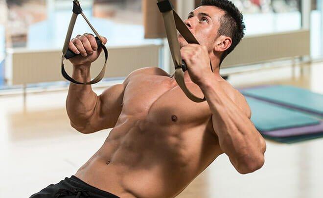 TRX treino exercícios
