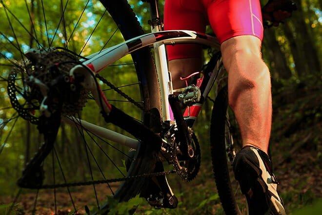 Mountain bike e musculação